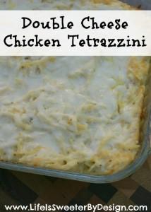 Double Cheese Chicken Tetrazzini
