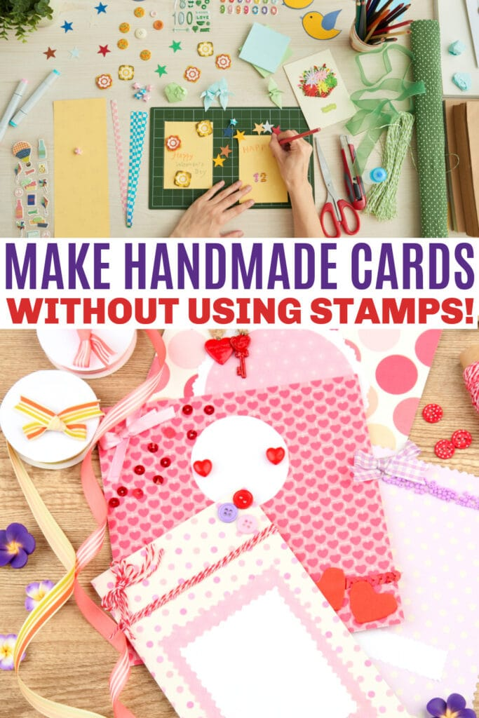 How to Make Handmade Cards without using stamps