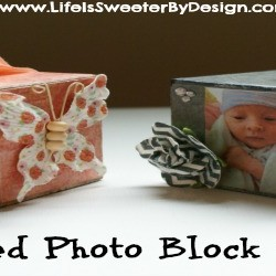 Photo Block Ornaments