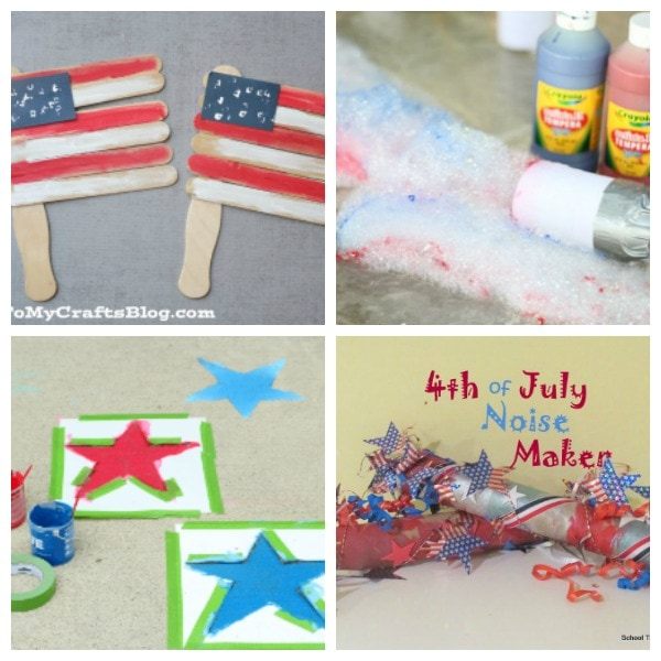easy activities for kids for 4th of July