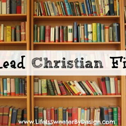 Why Read Christian FIction