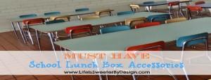 School Lunch Box Accessories