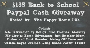 Back to School Paypal Cash Giveaway