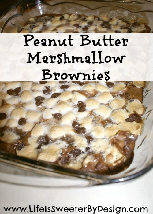 Peanut Butter Marshmallow Brownies