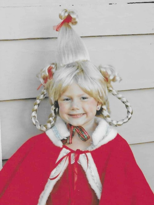 how to make a Cindy Lou Who Costume