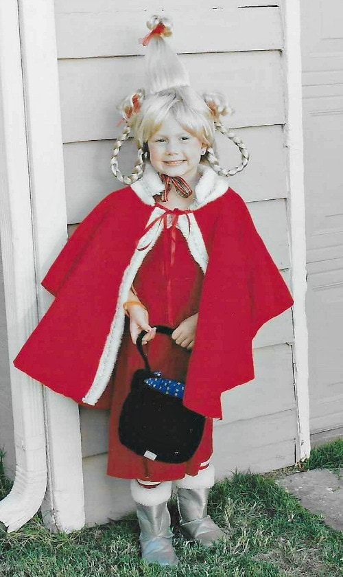 easy Cindy Lou Who Costume