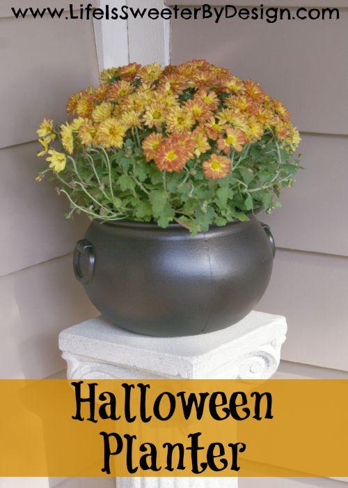 Halloween Planter