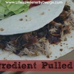 3 Ingredient Pulled Pork