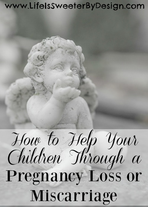 how to help your children through a pregnancy loss