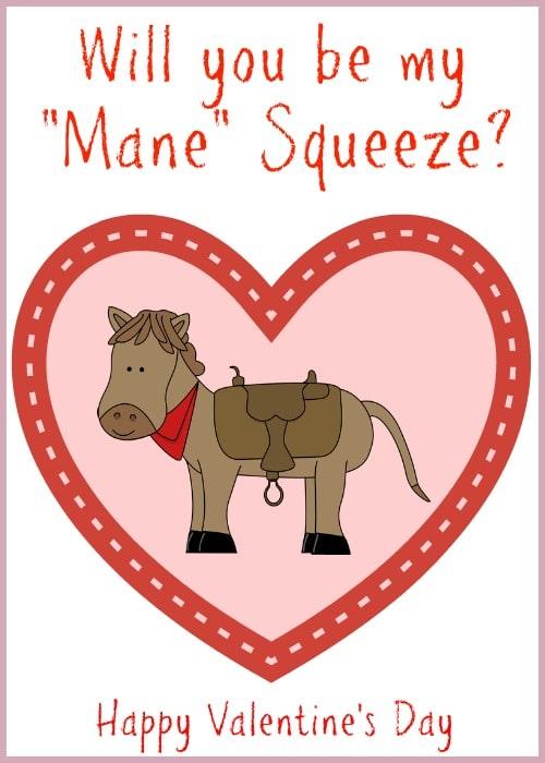 Mane Squeeze Valentine