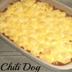 Chili Dog Casserole