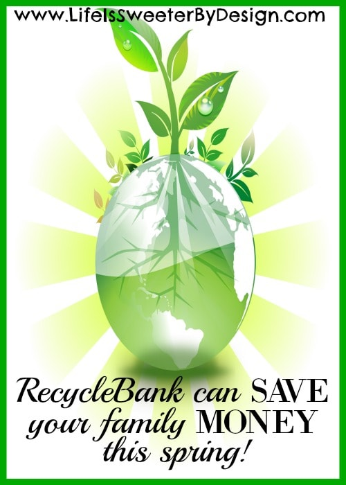RecycleBank can save your family money