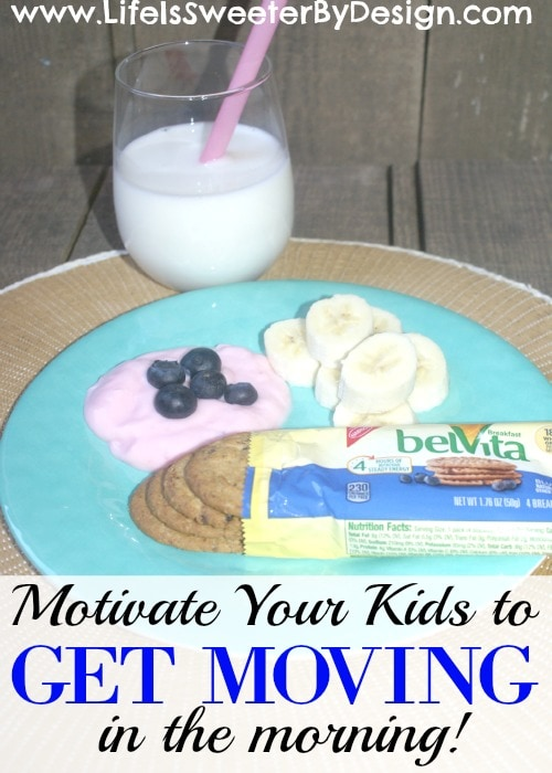 motivate kids to get moving in the morning