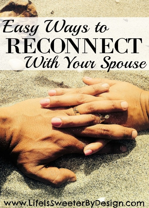 reconnect with your spouse