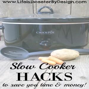 slow cooker hacks