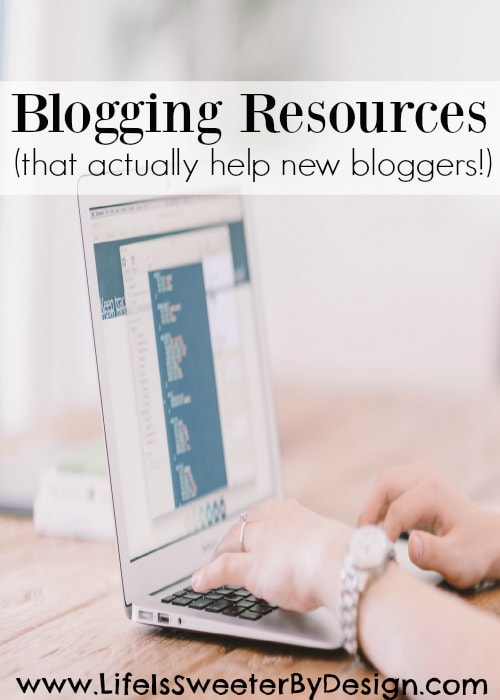 Blogging resources that actually help new bloggers and are worth the money!