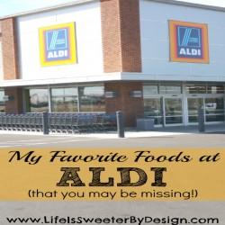 favorite foods to buy at aldi