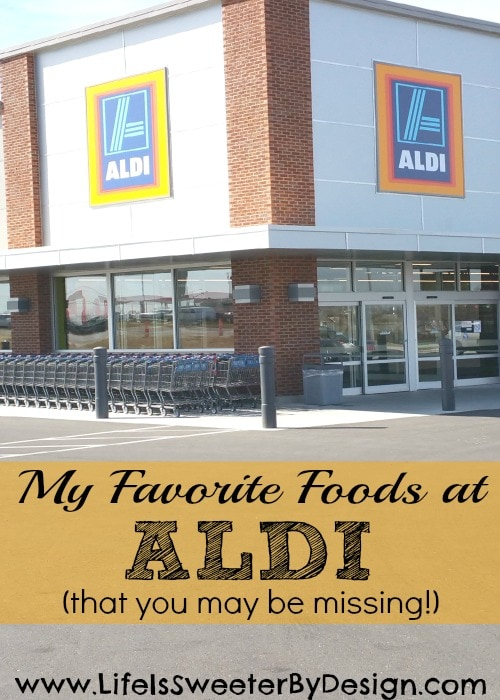 favorite foods to buy at aldi
