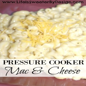 Macaroni and Cheese in the Pressure Cooker