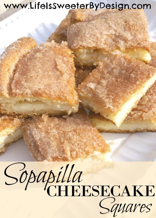 sopapilla cheesecake squares