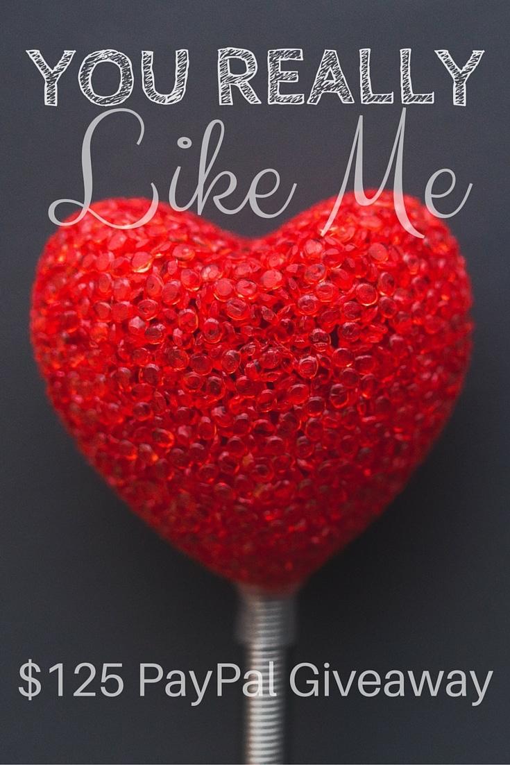 You really like me