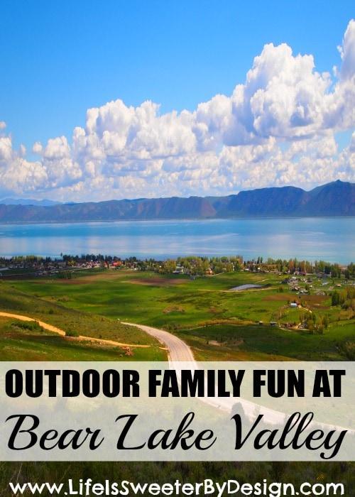 Outdoor Family Fun at Bear Valley Lake