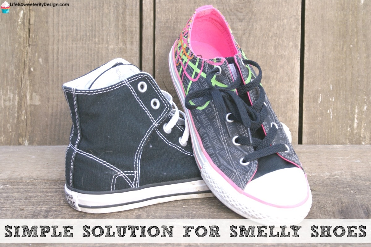 Simple Solution For Smelly Shoes Life Is Sweeter By Design