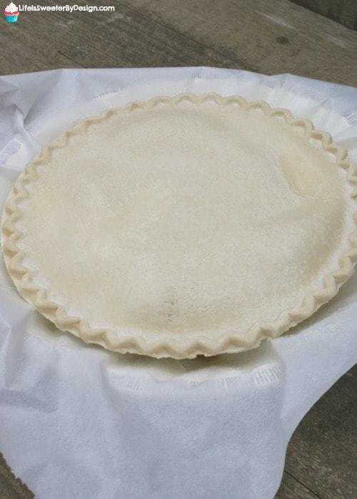Upside Down Apple Pecan Pie - Life is Sweeter By Design