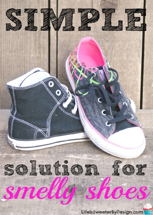 solution for smelly shoes