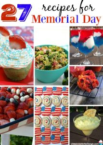 27 Recipes for Memorial Day