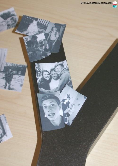 DIY paper mache photo letters | DIY - Muttertag | …