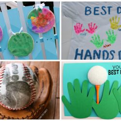 handprint crafts for father's day