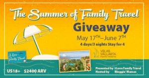 Summer of Family Travel Giveaway