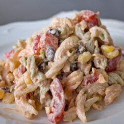 easy Tex-Mex Pasta Salad