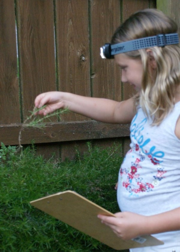 printable flashlight scavenger hunt for kids