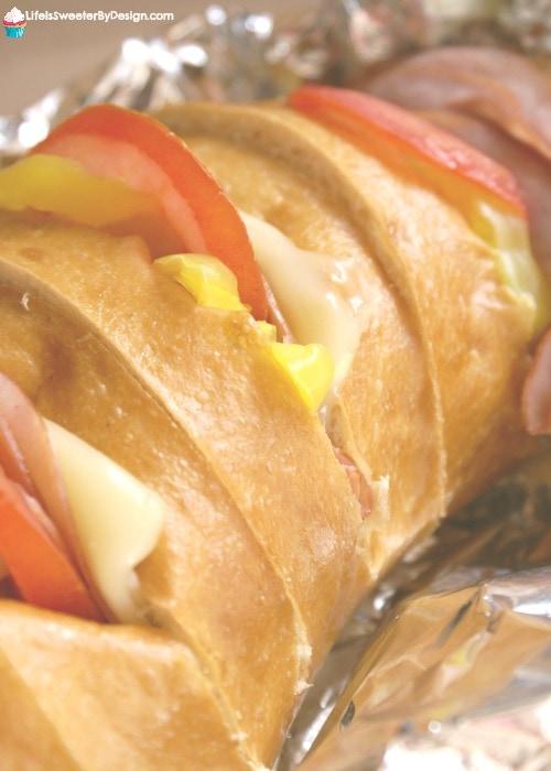 baked loaf sandwich