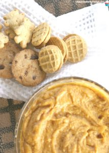 4 Ingredient Peanut Butter Pumpkin Pie Dip