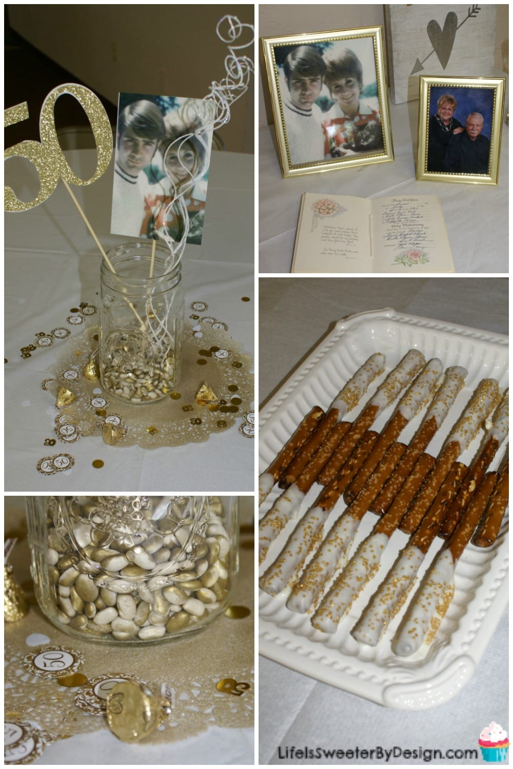 50th anniversary party life is sweeter by design for 50th wedding anniversary decoration ideas