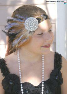 How to Make a Flapper Girl Headband