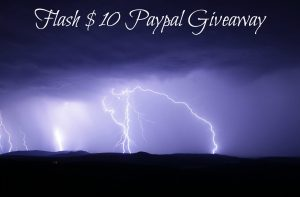 Flash Paypal Giveaway