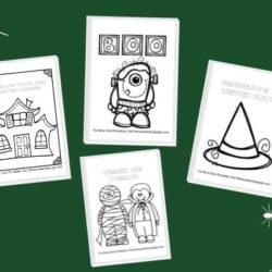 free Halloween printables pack