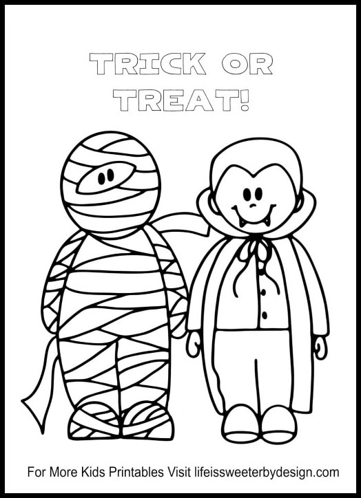 picture relating to Free Halloween Printable known as Absolutely free Halloween Printables - Lifetime is Sweeter Through Structure