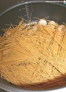 Pressure Cooker Spaghetti and Meatballs