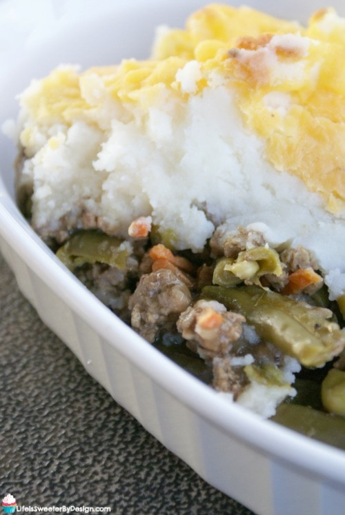 shortcut shepherd's pie