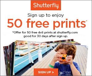 50 Free Prints 300 x 250
