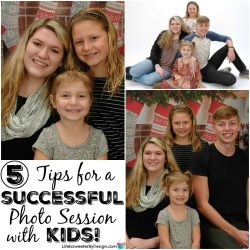5 tips for a successful photo session with kids