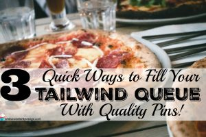 fill your tailwind queue
