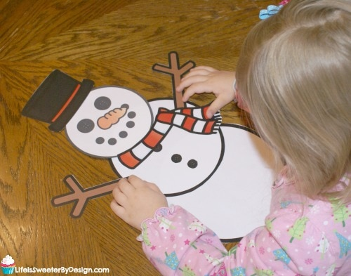 photo regarding Free Printable Snowman referred to as Develop a Snowman Absolutely free Printables - Existence is Sweeter By way of Layout