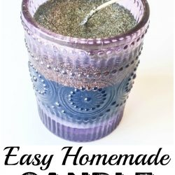 DIY Homemade Candles are easy to make and perfect for gifts. You can pick your favorite scent and use sachets or even essential oils. A great DIY project for anyone to try!