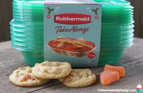 Soft Orange Slice Cookies